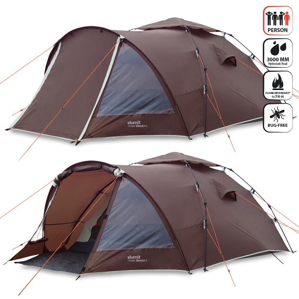 Slumit GRIZZLY 4 Man Tent ...  sc 1 st  Slumit & Slumit GRIZZLY 4 Man Tent with FlashFrame Pitch + Pack System u2013 Slumit